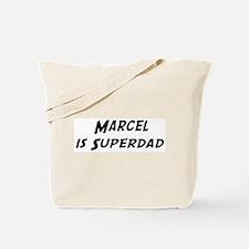 Marcel is Superdad Tote Bag