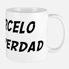 Marcelo is Superdad Small Small Mug