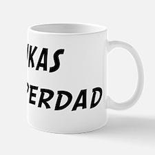 Lukas is Superdad Mug