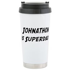Johnathon is Superdad Travel Mug