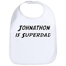 Johnathon is Superdad Bib