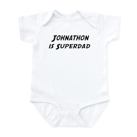 Johnathon is Superdad Infant Bodysuit