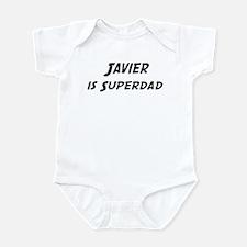 Javier is Superdad Infant Bodysuit