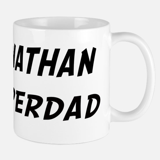 Johnathan is Superdad Mug
