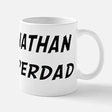 Johnathan is Superdad Small Small Mug