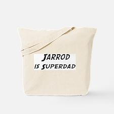 Jarrod is Superdad Tote Bag
