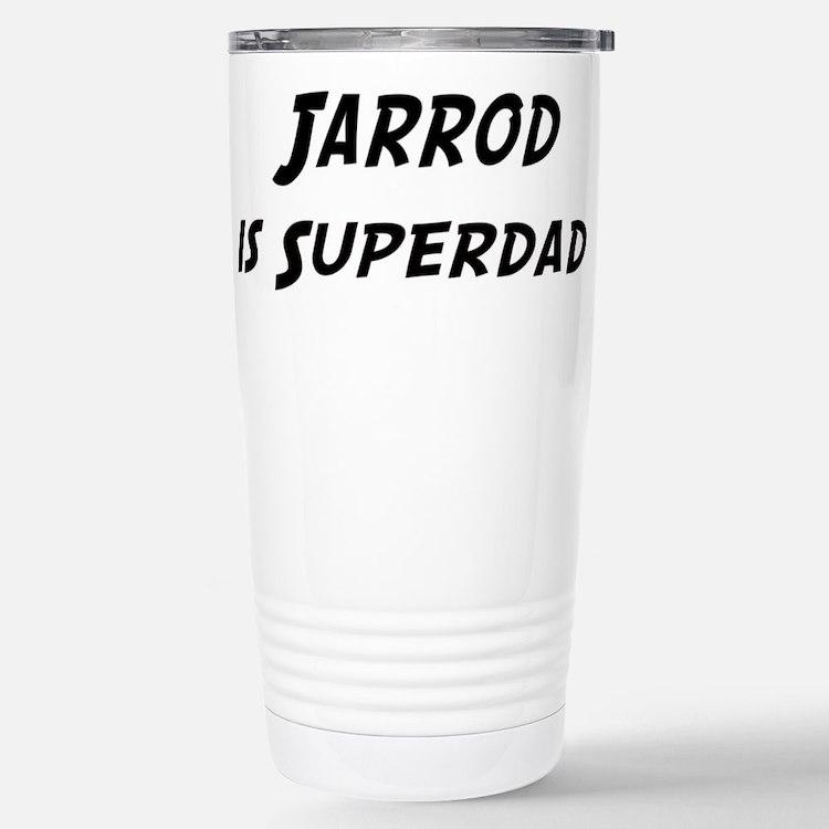 Jarrod is Superdad Stainless Steel Travel Mug