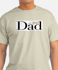 New Dad 2010 T-Shirt