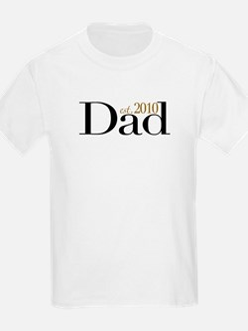 New Dad 2010 T-Shirt