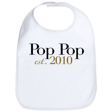 New Pop Pop 2010 Bib