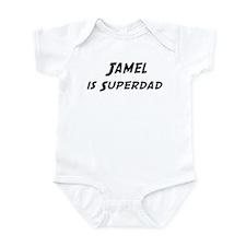 Jamel is Superdad Infant Bodysuit