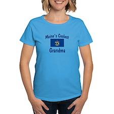 Coolest Maine Grandma Tee
