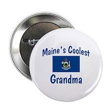 """Coolest Maine Grandma 2.25"""" Button"""