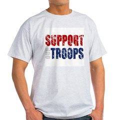 Support Our Troops - Aged T-Shirt