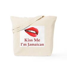 Kiss Jamaican Tote Bag
