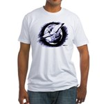 Earth Homer Pigeon Fitted T-Shirt
