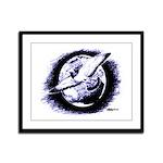 Earth Homer Pigeon Framed Panel Print