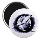 Earth Homer Pigeon Magnet