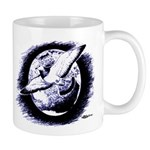 Earth Homer Pigeon Mug