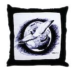 Earth Homer Pigeon Throw Pillow