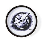 Earth Homer Pigeon Wall Clock