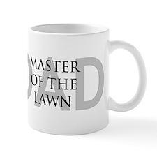 Dad Master of the Lawn Mug