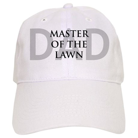 Dad Master of the Lawn Cap