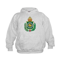 Brazil Empire Coat Of Arms Hoodie