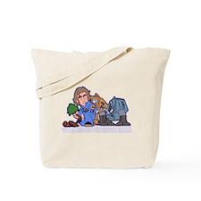 Silent Running Tote Bag