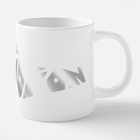 sparkkle motion clear backg 20 oz Ceramic Mega Mug