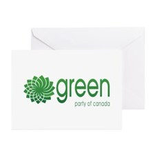 Green Party of Canada Greeting Cards (Pk of 10)