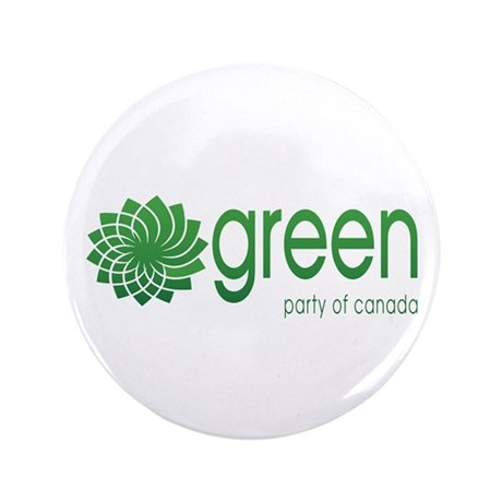 "Green Party of Canada 3.5"" Button"