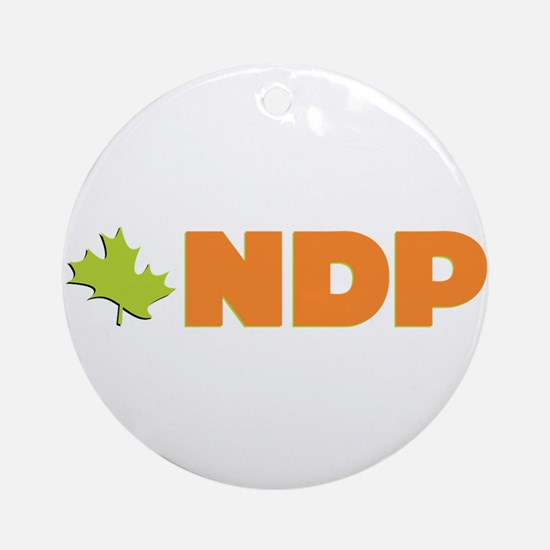 NDP Ornament (Round)