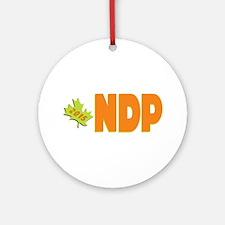 NDP 2015 Ornament (Round)