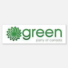 Green Party Of Canada Sticker (Bumper)