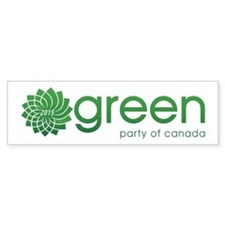 Green Party 2015 Bumper Sticker