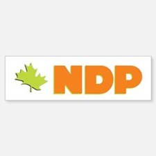 NDP Bumper Car Car Sticker