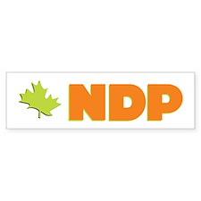 NDP Bumper Car Sticker