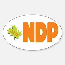 NDP 2015 Sticker (Oval)