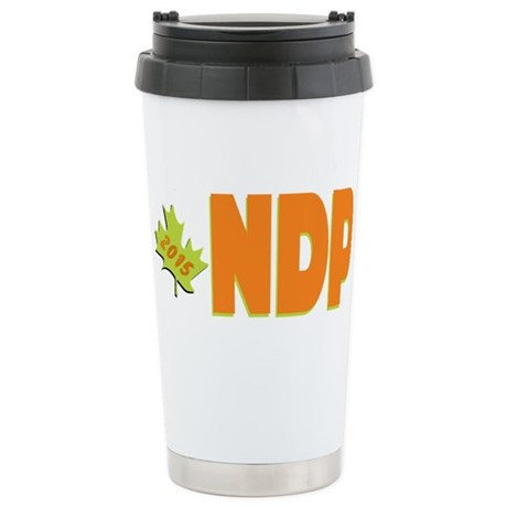 NDP 2015 Stainless Steel Travel Mug