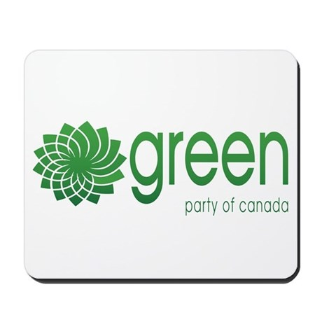 Green Party Of Canada Mousepad