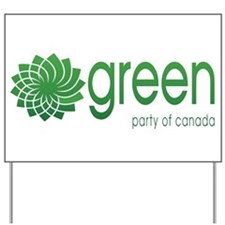 Green Party of Canada Yard Sign