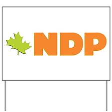 NDP Yard Sign