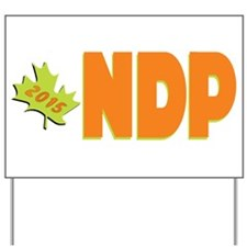 NDP 2015 Yard Sign