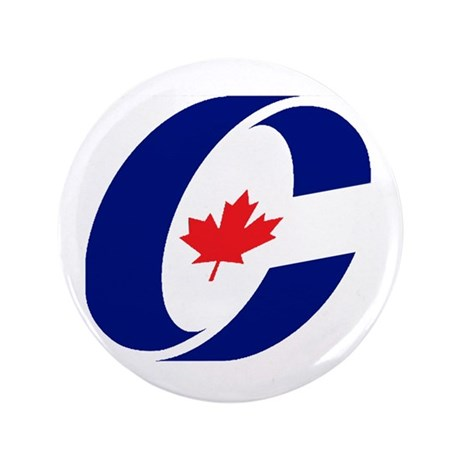 "Conservative Party 3.5"" Button"