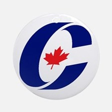 Conservative Party Ornament (Round)