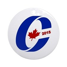 Conservative Party 2015 Ornament (Round)