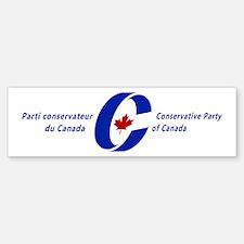 Conservative Party Bumper Bumper Bumper Sticker