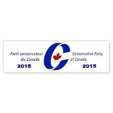 Conservative Party 2015 Bumper Sticker