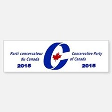 Conservative Party 2015 Sticker (Bumper)